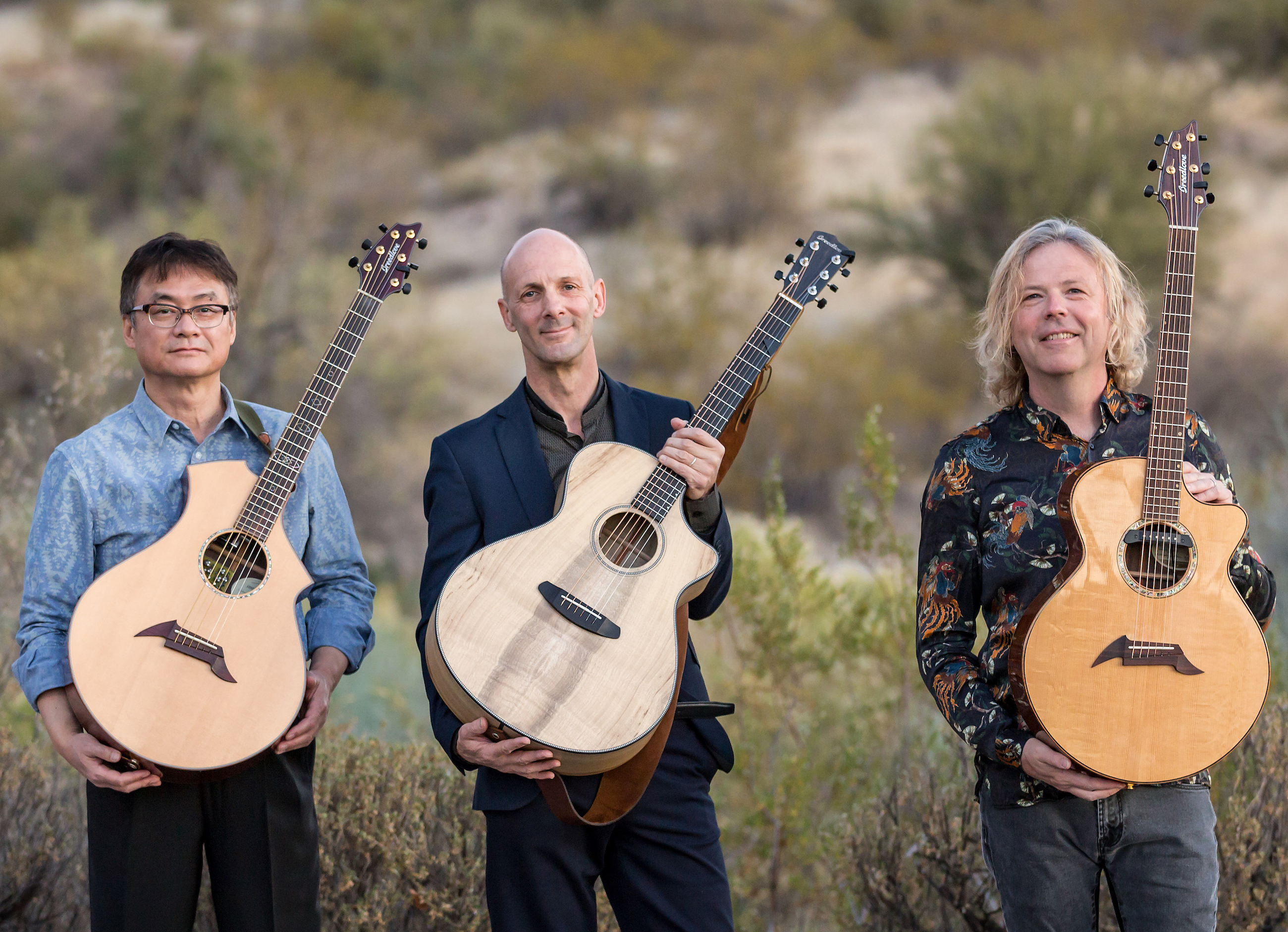 California Guitar Trio - Publicity Images - 2017
