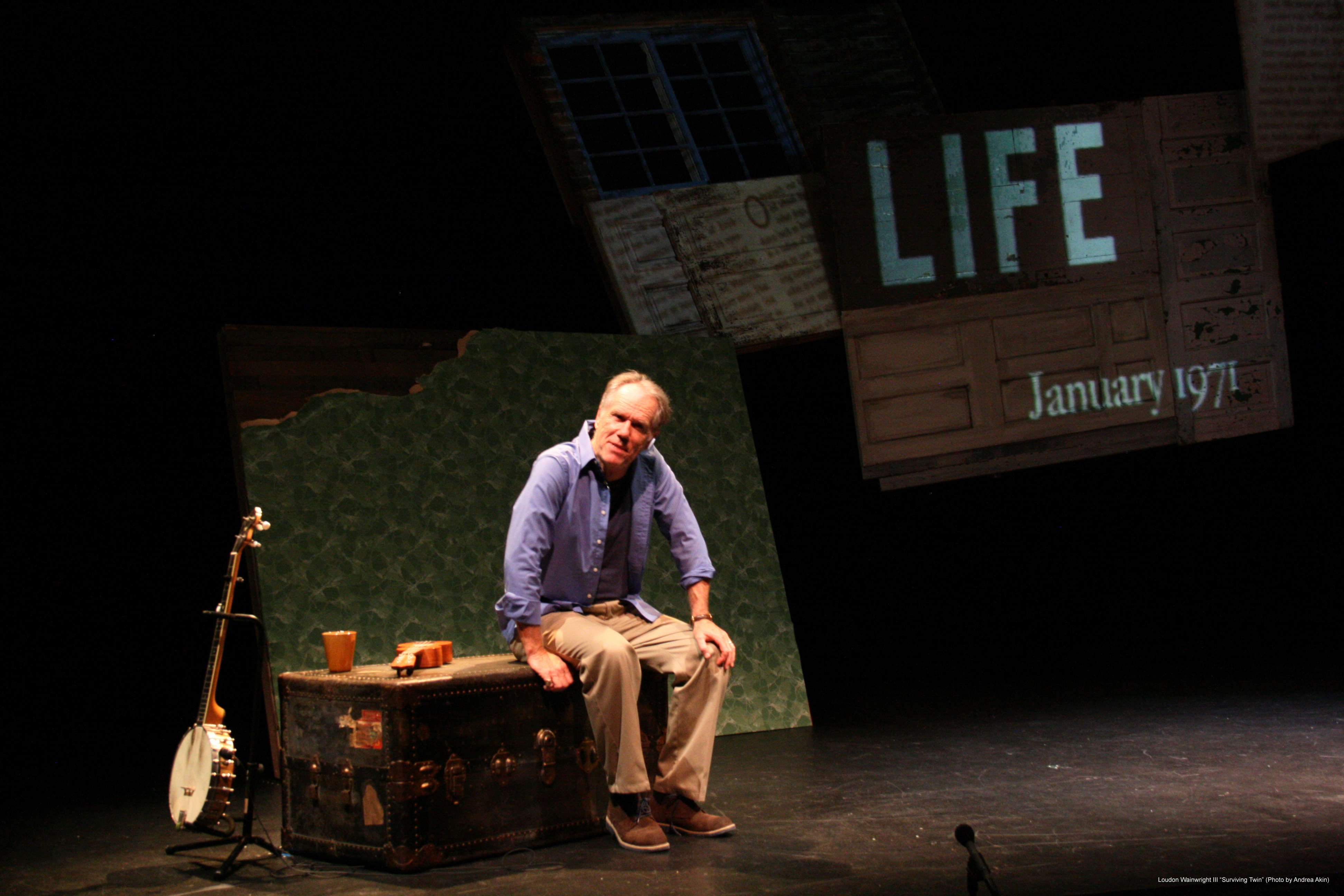 """Loudon Wainwright III """"Surviving Twin"""" - Publicity Images"""