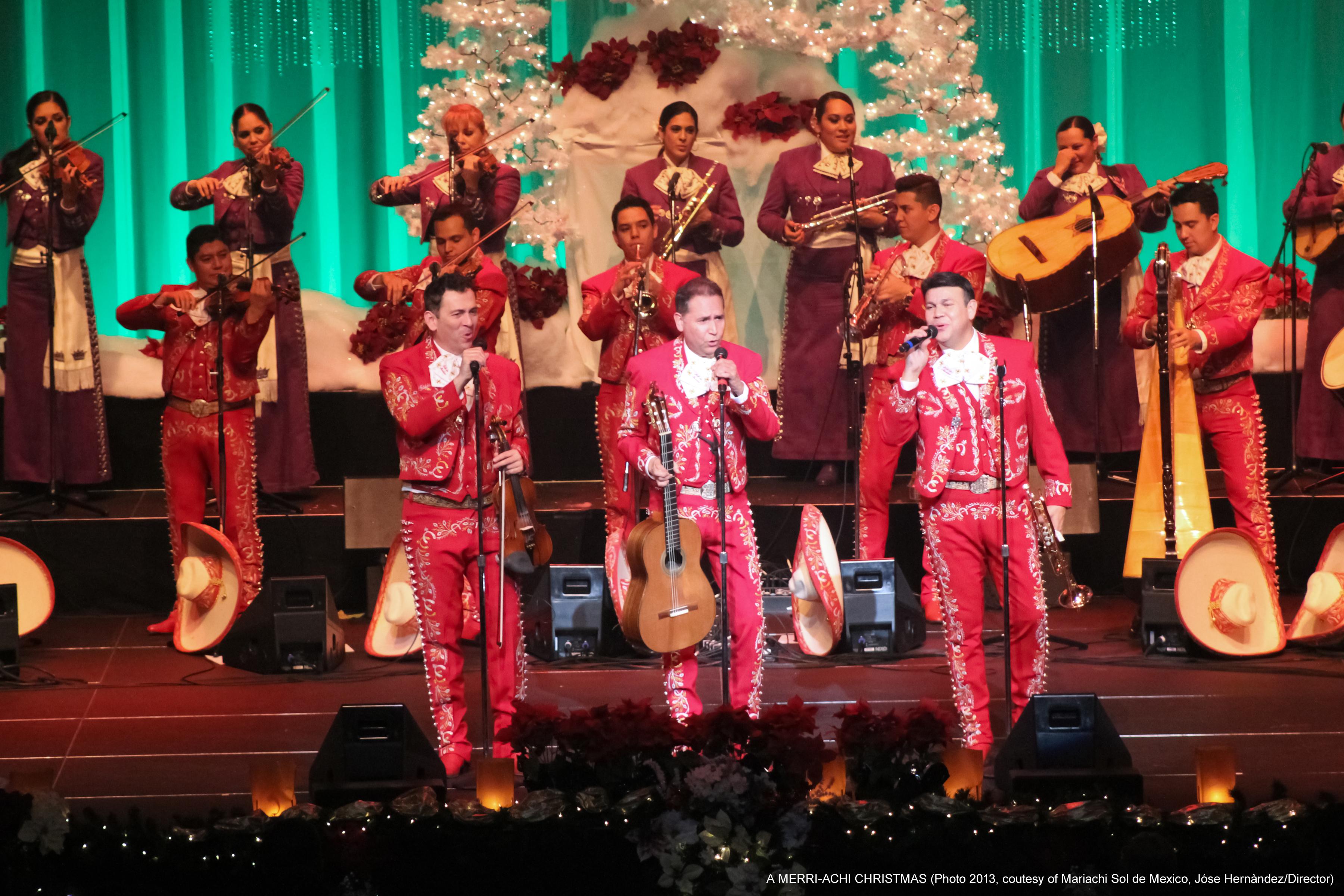"Maricahi Sol de Mexico ""A Merri-Achi Christmas"" - Publicity Images"