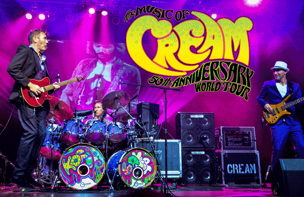 Music of Cream 50th Anniversary World Tour