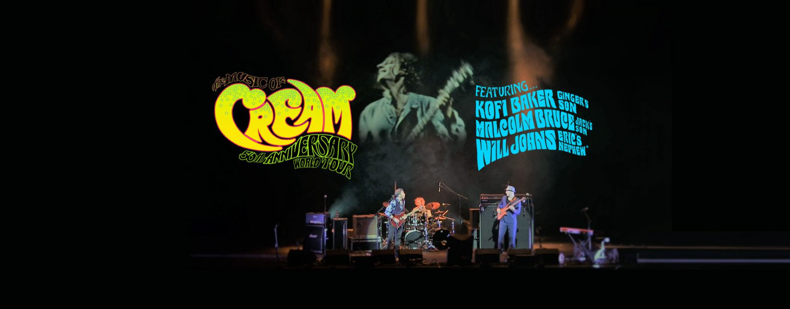 Music of Cream – 50th Anniversary World Tour