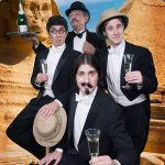 The Flying Karamazov Brothers - Publicity Images - Club Sandwich